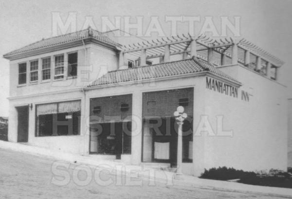 The Manhattan Inn was built at 128/132 Marine Ave. in 1913.  This was Manhattan Beach's second hotel.