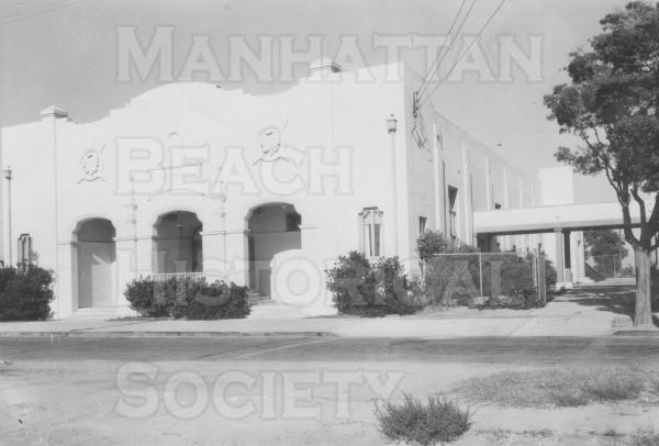 Center Street School Auditorium.  It was demolished because of previous earthquake damage in 1949.