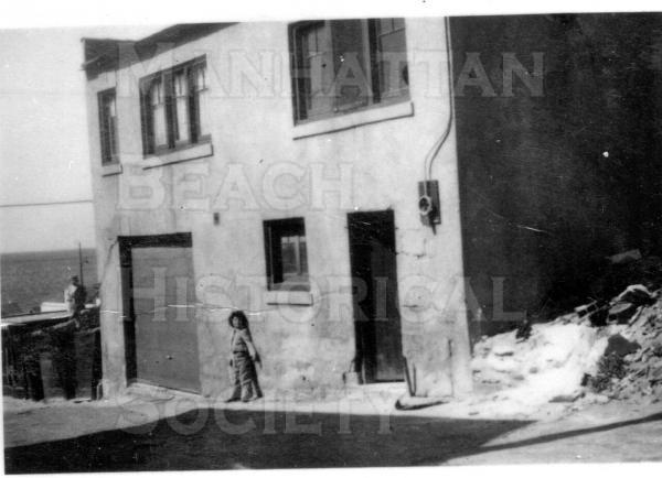 House at 224 9th Pl.  It was built of hollow bricks that were made in the garage.  It was torn down after an earthquake in the early 1950s.