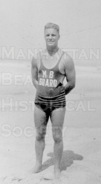 Manhattan Beach city lifeguard Bill Simkins.